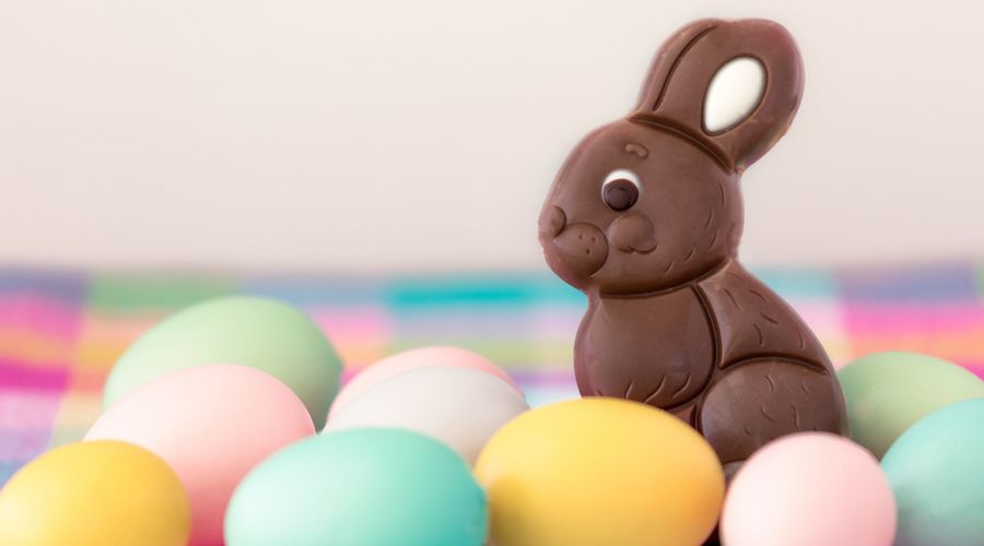 Chocolate Easter Bunny Royalty Free Image 1583341504