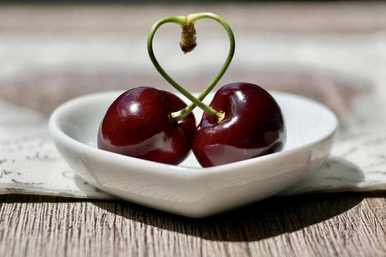 cherry, cherries, dish, fruit